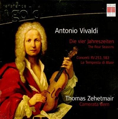 Thomas Zehetmair 비발디: 사계, 협주곡 RV 253, RV 583 바다의 협주곡 (Vivaldi : Four Seasons, Concertos) 체헤트마이어