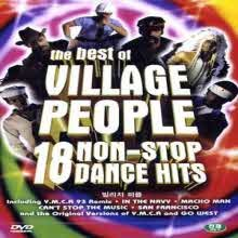 [DVD] Village People - The Best of Village People 18 Non-Stop Dance Hits (미개봉)