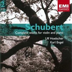 Schubert : Works For Violin And Piano : HoelscherㆍEngel