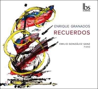 Emilio Gonzalez Sanz 그라나도스: 젊은 시절 이야기, 어린이 정경, 표현 연습곡, 스케치 등 - 에밀리오 곤살레스 산스 (Enrique Grandos: Recuerdos)