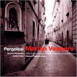 Pergolesi : Maria Vespers : DanemanㆍKissㆍChoir of New College, OxfordㆍAAMㆍHigginbottom