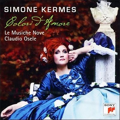 Colori d'Amore : 잊혀진 바로크 아리아의 제발견 - 시몬 케르메스