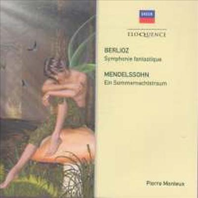 베를리오즈: 환상 교향곡, 멘델스존: 한여름밤의 꿈 (Berlioz: Symphonie Fantastique, Mendelssohn: Ein Sommernachtstraum) - Pierre Monteux
