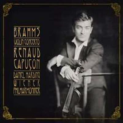 브람스: 바이올린 협주곡 (Brahms: Violin Concerto in D major, Op. 77) (180g)(LP) - Daniel Harding