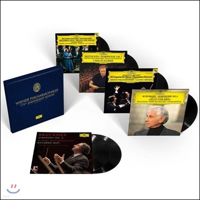 빈 필하모닉 175주년 기념 1842세트 한정반 (Wiener Philharmoniker 175th Anniversary Edition) [6 LP]
