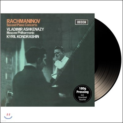 Vladimir Ashkenazy 라흐마니노프: 피아노 협주곡 2번 - 블라디미르 아쉬케나지 [LP]
