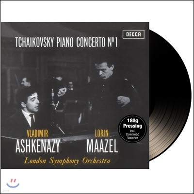 Vladimir Ashkenazy 차이코프스키: 피아노 협주곡 1번 - 블라디미르 아쉬케나지 (Tchaikovsky; Piano Concerto No.1) [LP]
