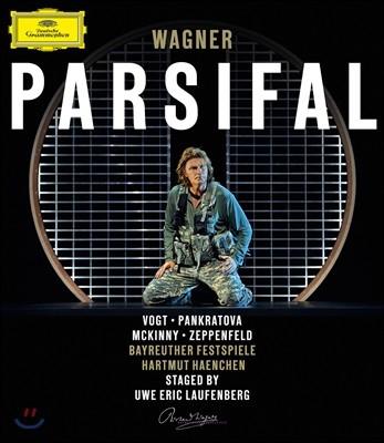 Klaus Florian Vogt / Hartmut Haenchen 바그너: 파르지팔 - 클라우스 플로리안 포그트, 하르트무트 핸헨 (Wagner: Parsifal) [블루레이]