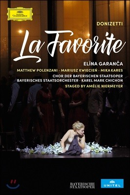 Elina Garanca / Karel Mark Chichon 도니제티: 라 파보리트 [오리지널 불어 버전] - 엘리나 가란차, 바이에른 슈타츠오퍼 오케스트라, 카렐 마크 시숑 (Donizetti: La Favorite)