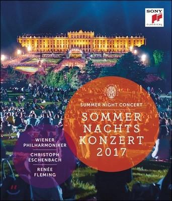 Christoph Eschenbach 2017 빈 필하모닉 썸머 나잇 콘서트: 여름 음악회 - 크리스토프 에센바흐, 르네 플레밍 (Summer Night Concert 2017) [블루레이]