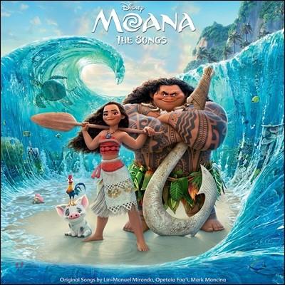 모아나 뮤지컬 애니메이션 음악 (Moana OST Songs Only - by Mark Mancina 마크 맨시나) [LP]