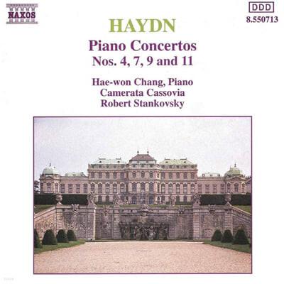 장혜원/ Robert Stankovsky 하이든: 피아노 협주곡 (Haydn: Piano Concertos Nos. 4, 7, 9 & 11)