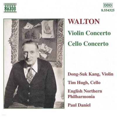 월톤 : 바이올린 협주곡, 첼로 협주곡 - 강동석