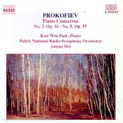 백건우 - 프로코피에프: 피아노 협주곡 2번, 5번 (Prokofiev : Piano Concerto No.2 & 5) 백건우