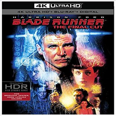 Blade Runner: The Final Cut (블레이드 러너: 파이널 컷) (1982) (한글무자막)(4K Ultra HD + Blu-ray + Digital)
