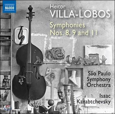 Isaac Karabtchevsky 빌라-로보스: 교향곡 8번, 9번, 11번 - 상파울로 심포니 오케스트라, 이삭 카라브체프스키 (Heitor Villa-Lobos: Symphonies Nos.8, 9 & 11)