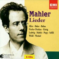 Mahler : Lieder : AllenㆍBakerㆍBaltsaㆍFischer-DieskauㆍKonigㆍLudwigㆍMathisㆍPoppㆍSoffelㆍWeiklㆍWenkel