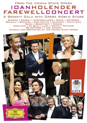 Ioan Holender 요안 홀렌더 고별 콘서트 (Farewell Concert) 안나 네트렙코, 플라시도 도밍고, 토마스 크바스토프, 나탈리 드세이