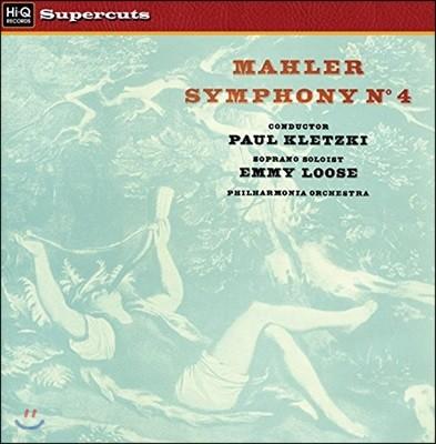 Paul Kletzki 말러: 교향곡 4번 - 필하모니아 오케스트라, 파울 클레츠키 (Mahler: Symphony No.4) [LP]