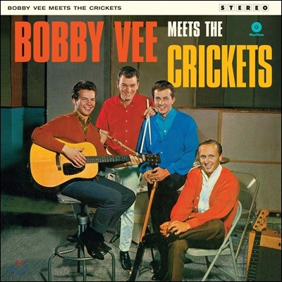 Bobby Vee Meets the Crickets (바비 비 & 크리켓츠) [LP]