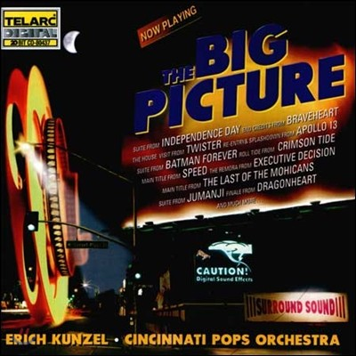 Erich Kunzel 오케스트라로 듣는 영화음악들 (Big Picture) 에리히 쿤젤