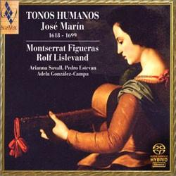 Montserrat Figuera 호세 마린 : 인간의 선율 (Jose Marin : Tonos Humanos) 몽세라 피구에라스 (SACD)