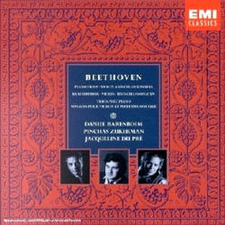Beethoven : Piano TriosㆍViolin and Cello Sonatas : BarenboimㆍZukermanㆍDu Pre