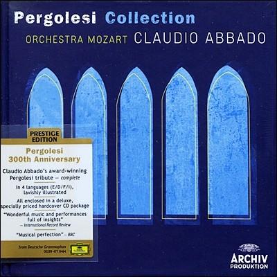 페르골레지 3 레코딩 모음집 (하드커버) - 아바도