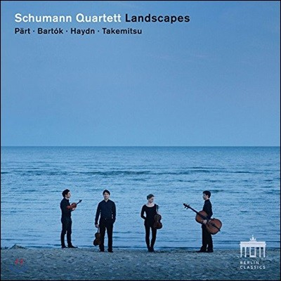 Schumann Quartett 하이든: 현악 사중주 '일출' / 다케미츠: 풍경 / 바르톡: 사중주 2번 / 패르트: 프라트레스 - 슈만 콰르텟 (Landscapes - Haydn / Arvo Part / Bartok / Takemitsu)