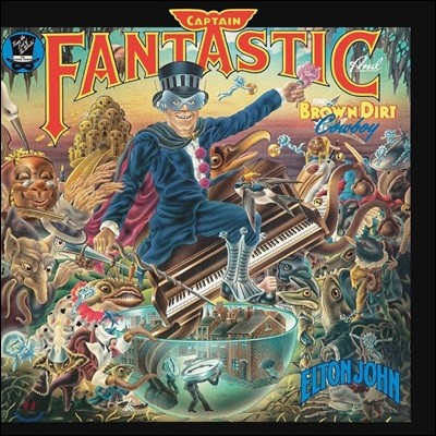 Elton John (엘튼 존) - Captain Fantastic & The Brown Dirt Cowboy [LP]