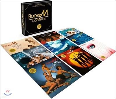 Boney M. (보니 엠) - Complete [9 LP 박스세트]