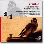 비발디 : 플루트 협주곡, 리코더 협주곡