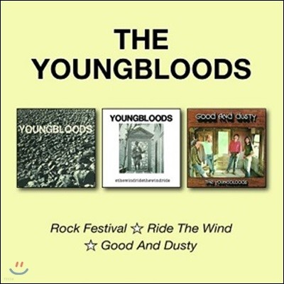 The Youngbloods (영블러즈) - Rock Festival / Ride The Wind / Good And Dusty