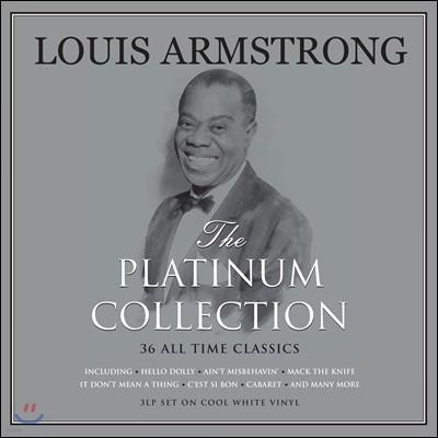 Louis Armstrong (루이 암스트롱) - The Platinum Collection [화이트 컬러 3LP]