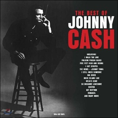 Johnny Cash (쟈니 캐시) - Best of Johnny Cash [레드 컬러 2 LP]