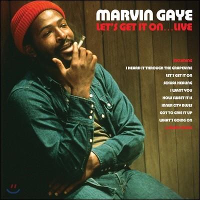 Marvin Gaye (마빈 게이) - Let's Get It on... Live [레드 컬러 2 LP]