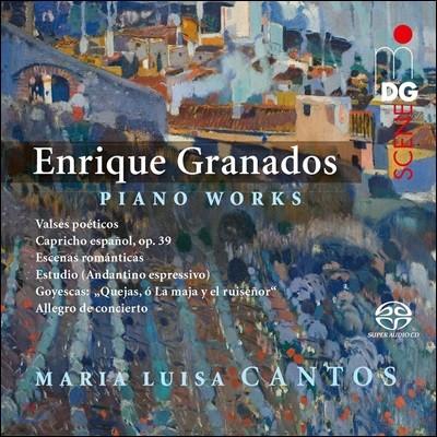 Maria Luisa Cantos 그라나도스: 피아노 작품집 - 마리아 루이자 칸토스 (Enrique Granados: Piano Works - Valses Poeticos, Goyescas, Capricho Espanol Op.39)