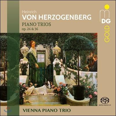 Vienna Piano Trio 헤르초겐베르크: 피아노 삼중주 1, 2번 - 비엔나 피아노 트리오 (Heinrich von Herzogenberg: Piano Trios Op.24 & Op.36)