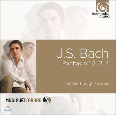 Cedric Tiberghien 바흐: 파르티타 2번, 3번, 4번 - 세드릭 티베르기엥 (J.S. Bach: Partitas BWV826, 827 & 828)