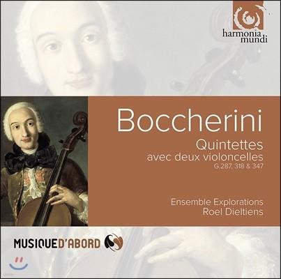 Ensemble Explorations 보케리니: 두 대의 첼로를 위한 5중주 G.287, 318 & 347 - 앙상블 익스플로레이션, 로엘 디엘티엔스 (Boccherini: Quintets for 2 Cellos)