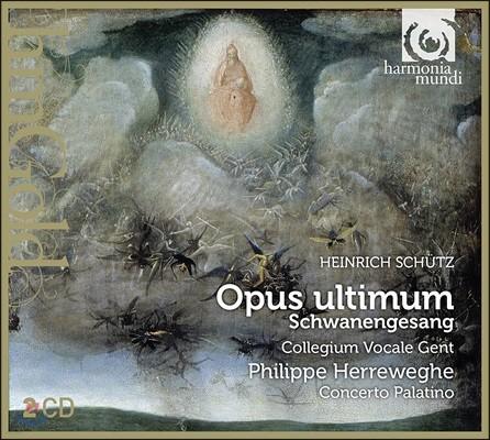 Philippe Herreweghe 쉬츠: 백조의 노래 - 시편 119, 독일 마니피카트 - 콜레기움 보칼레 헨트, 필립 헤레베헤 (Schutz: Opus Ultimum 'Schwanengesang' - Psalm 119 & 110, Deutsches Magnificat)