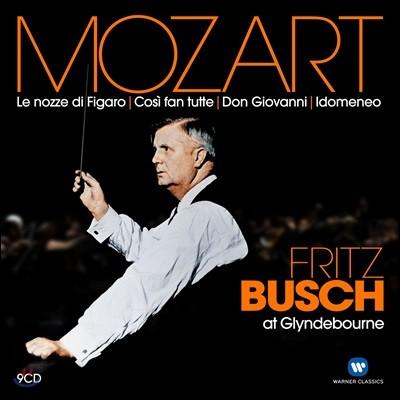 Fritz Busch 글라인드본의 프리츠 부슈 - 모차르트: 오페라 피가로의 결혼, 코지 판 투테, 돈 조반니, 이도메네오 (At Glyndebourne - Mozart: Le Nozze di Figaro, Cosi fan Tutte, Don Giovanni, Idomeneo)