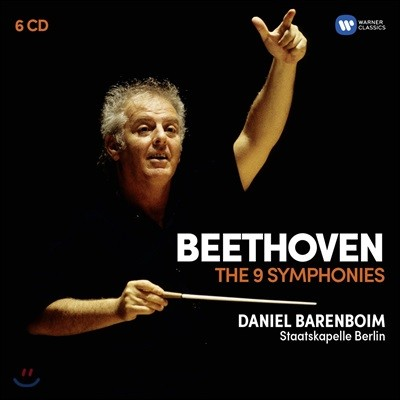 Daniel Barenboim 베토벤: 교향곡 1-9번 전곡 - 슈타츠카펠레 베를린, 다니엘 바렌보임 (Beethoven: The 9 Symphonies)