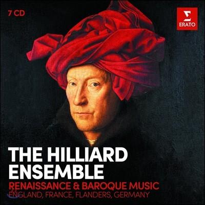 Hilliard Ensemble 르네상스, 바로크 성악 작품집 - 영국, 프랑스, 플랜더스, 독일 (Renaissance & Baroque Music - England, France, Flanders, Germany) 힐리어드 앙상블