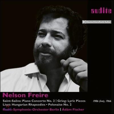 Nelson Freire 생상스: 피아노 협주곡 2번 / 그리그: 서정 소품집 / 리스트: 헝가리 랩소디 - 넬슨 프레이레 (Saint-Saens: Piano Concerto / Grieg: Lyric Pieces / Liszt: Hungarian Rhapsodies)