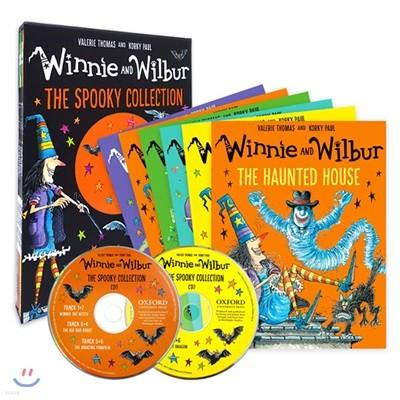 마녀 위니 스푸키 컬렉션 6종 세트 (CD 2장 포함) : Winnie and Wilbur : The Spooky Collection