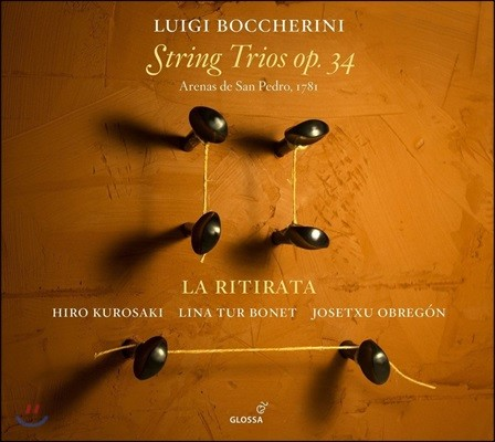 La Ritirata 보케리니: 현악 삼중주 - 라 리티라타 (Boccherini: String Trios Op.34)