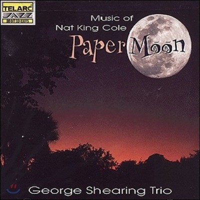 George Shearing Trio (조지 쉐링 트리오) - Paper Moon: Music Of Nat King Cole