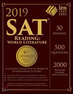 SAT Reading World Literature Practice Book 2018