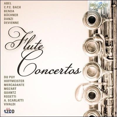 플루트 협주곡집 - 아벨 / C.P.E. 바흐 / 드비엔느 / 호프마이스터 / 스카를라티 / 벤다 / 크반츠 외 (Flute Concertos - Abel / C.P.E. Bach / Devienne / Hoffmeister / A. Scarlatti / Benda / Quantz)